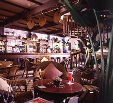 Raffles Bar in Singapore